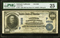 Oakland, CA - $100 1902 Date Back Fr. 691 Central National Bank Ch. # (P)9502 PMG Very Fine 25