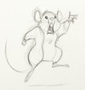 Animation Art:Production Drawing, The Rescuers Down Under Animation Dr...