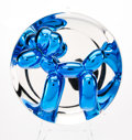 Fine Art - Sculpture, American:Contemporary (1950 to present), Jeff Koons (b. 1954). Balloon Dog (Blue), 2002. Chrome glazed porcelain. 10-1/4 inch (26 cm) diameter. Ed. 720/2300. Num...