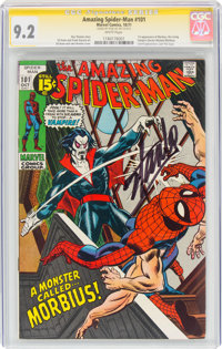 The Amazing Spider-Man #101 (Marvel, 1971) CGC Signature Series NM- 9.2 White pages
