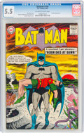 Silver Age (1956-1969):Superhero, Batman #156 (DC, 1963) CGC FN- 5.5 Off-white to white pages....