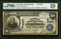 National Bank Notes:Pennsylvania, Lancaster, PA - $10 1902 Plain Back Fr. 626 The Conestoga National Bank Ch. # (M)3987 PMG Very Fine 25.. ...