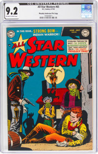 All Star Western #65 Murphy Anderson File Copy (DC, 1952) CGC NM- 9.2 Off-white to white pages