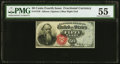 Fractional Currency:Fourth Issue, Fr. 1376 50¢ Fourth Issue Stanton PMG About Uncirculated 55.. ...