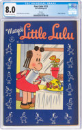Golden Age (1938-1955):Cartoon Character, Four Color #115 Marge's Little Lulu File Copy (Dell, 1946) CGC VF 8.0 Cream to off-white pages....