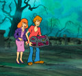 Animation Art:Production Cel, The 13 Ghosts of Scooby Doo Daphne a...