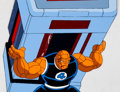 Animation Art:Production Cel, The Fantastic Four The Thing Production Cel and Animation Drawing (Marvel Films, 1995)....
