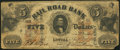 Obsoletes By State:Massachusetts, Lowell, MA- Rail Road Bank $5 Aug. 1, 1859 Very Good.. ...