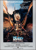"""Movie Posters:Animation, Heavy Metal & Other Lot (Columbia, 1981). Folded, Very Fine+. Mini Poster (18"""" X 24.5"""") & Handbills (4) Identical (8.5"""" X 11... (Total: 5 Items)"""