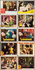 "Movie Posters:Romance, Come and Get It & Other Lot (United Artists, 1936). Overall: Fine/Very Fine. Lobby Cards (30) & Color Glos Lobby Card (11"" X... (Total: 31 Items)"