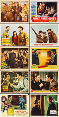 """Movie Posters:Academy Award Winners, From Here to Eternity & Other Lot (Columbia, 1953). OverallL Fine/Very Fine. Lobby Cards (23) & Title Lobby Card (11"""" X 14"""")... (Total: 24 Items)"""