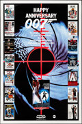 """Movie Posters:James Bond, Happy Anniversary 007: 25 Years of James Bond (MGM/UA, 1987). Rolled, Fine/Very Fine. Television One Sheet (27"""" X 41""""). Jame..."""