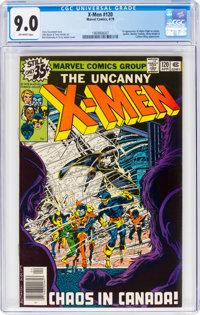 X-Men #120 (Marvel, 1979) CGC VF/NM 9.0 Off-white pages