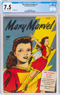 Golden Age (1938-1955):Superhero, Mary Marvel Comics #4 (Fawcett Publications, 1946) CGC VF- 7.5 Cream to off-white pages....
