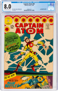 Captain Atom #83 (Charlton, 1966) CGC VF 8.0 Off-white to white pages