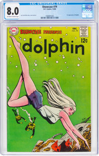 Showcase #79 Dolphin (DC, 1968) CGC VF 8.0 Off-white to white pages