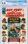 Silver Age (1956-1969):War, Sgt. Fury and His Howling Commandos #18 (Marvel, 1965) CGC VF/NM 9.0 Off-white to white pages....