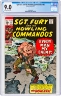 Bronze Age (1970-1979):War, Sgt. Fury and His Howling Commandos #85 (Marvel, 1971) CGC VF/NM 9.0 Off-white to white pages....