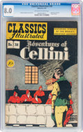 Golden Age (1938-1955):Classics Illustrated, Classics Illustrated #38 First Edition (Gilberton, 1947) CGC VF 8.0 Off-white to white pages....