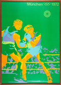 Olympic Collectibles:Autographs, 1972 & 1976 Olympic Games Boxing Posters Lot of 2....