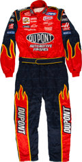 Miscellaneous Collectibles:General, Circa 2002 Jeff Gordon Pit Crew Member Worn Fire Suit....