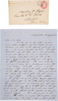 Military & Patriotic:Civil War, Civil War Archive of Correspondence and Documents of Hazard Stevens, 79th New York Volunteer Infantry, and His Family. ...