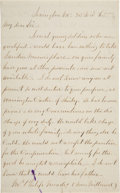 Autographs:Military Figures, Robert E. Lee Autograph Letter Signed. ...
