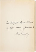 Books:Signed Editions, John F. Kennedy Inscribed Copy of Profiles in Courage.. ...
