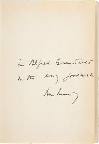 John F. Kennedy Inscribed Copy of Profiles in Courage
