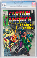 Silver Age (1956-1969):Superhero, Captain America #120 (Marvel, 1969) CGC NM+ 9.6 White pages....