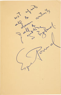 Ezra Pound Inscribed and Signed Copy of Confucius: The Great Digest & Unwobbling Pivot.<
