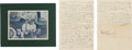 Football Collectibles:Others, 1934 Marguerite Van Kessel Lambeau Handwritten Letter Sent to Curly Lambeau to End Marriage. ...