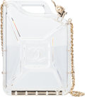 "Luxury Accessories:Bags, Chanel Plexiglass ""Dubai by Night"" Jerrycan Bag. Condition: 1. 5"" Width x 7"" Height x 2"" Depth"
