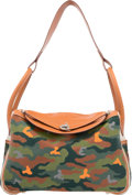 Luxury Accessories:Bags, Hermès 34cm Customized Green Camouflage Gold Swift Leathe...