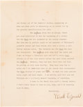 Autographs:Authors, F. Scott Fitzgerald Typed Letter Signed... (Total: 2 Items)