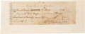 Autographs:U.S. Presidents, George Washington Check Signed ...