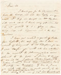 Autographs:Inventors, Joseph Priestley, English Author and Chemist, Historically Credited With the Discovery of Oxygen, Autograph Letter Signed ...