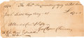 Autographs:Statesmen, Declaration of Independence Signer George Clymer Document Signed ...