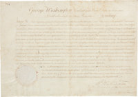 George Washington Appointment Signed