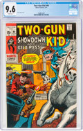 Bronze Age (1970-1979):Western, Two-Gun Kid #99 (Marvel, 1971) CGC NM+ 9.6 White pages....