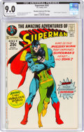 Bronze Age (1970-1979):Superhero, Superman #243 Murphy Anderson File Copy (DC, 1971) CGC VF/NM 9.0 Off-white to white pages....