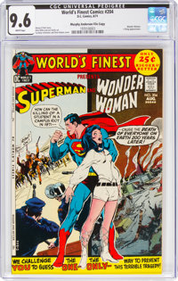 World's Finest Comics #204 Murphy Anderson File Copy (DC, 1971) CGC NM+ 9.6 White pages