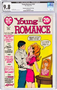 Young Romance #191 Murphy Anderson File Copy (DC, 1973) CGC NM/MT 9.8 Off-white to white pages