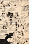 Original Comic Art:Panel Pages, Steve Ditko Beware the Creeper #4 Story Page 8 Original Art (DC, 1968)....