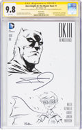 Original Comic Art:Sketches, Frank Miller, Brent Peeples, and Emily Rose Dark Knight III: The Master Race #1 Variant Sketch Cover Edition (DC, ...