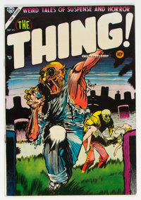 The Thing! #16 (Charlton, 1954) Condition: VG/FN