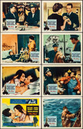 "Movie Posters:Romance, The Key & Other Lot (Columbia, 1958). Overall: Very Fine-. Lobby Card Sets of 8 (2 Sets), Title Card, & Lobby Cards (6) (11""... (Total: 23 Items)"
