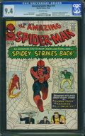 Silver Age (1956-1969):Superhero, The Amazing Spider-Man #19 (Marvel, 1964) CGC NM 9.4 Off-white pages.