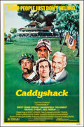 """Movie Posters:Comedy, Caddyshack (Orion, 1980). Folded, Very Fine-. One Sheet (27"""" X 41""""). Comedy.. ..."""