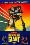"Movie Posters:Animation, The Iron Giant (Warner Brothers, 1999). Rolled, Very Fine+. One Sheet (27"" X 40"") SS, Advance. Animation.. ..."